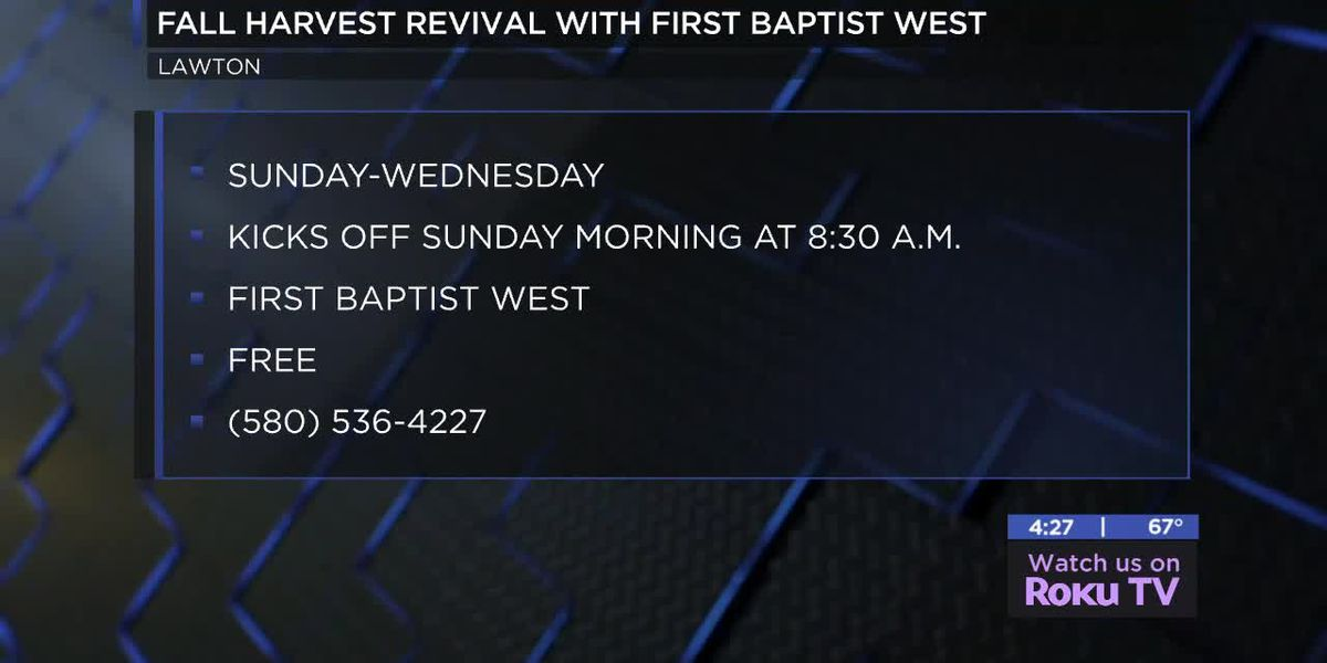 First Baptist West holds Fall Harvest Revival