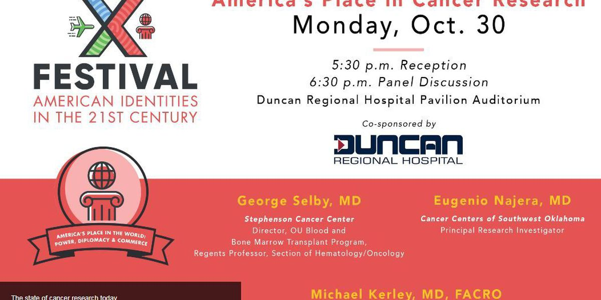 Cameron University is bringing their academic festival to Duncan