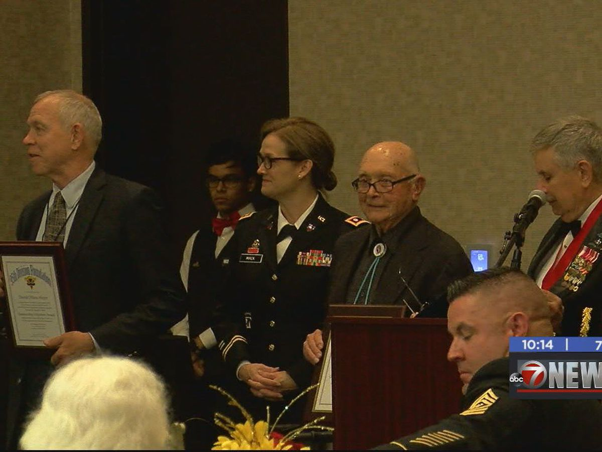 World War II veterans honored in Lawton