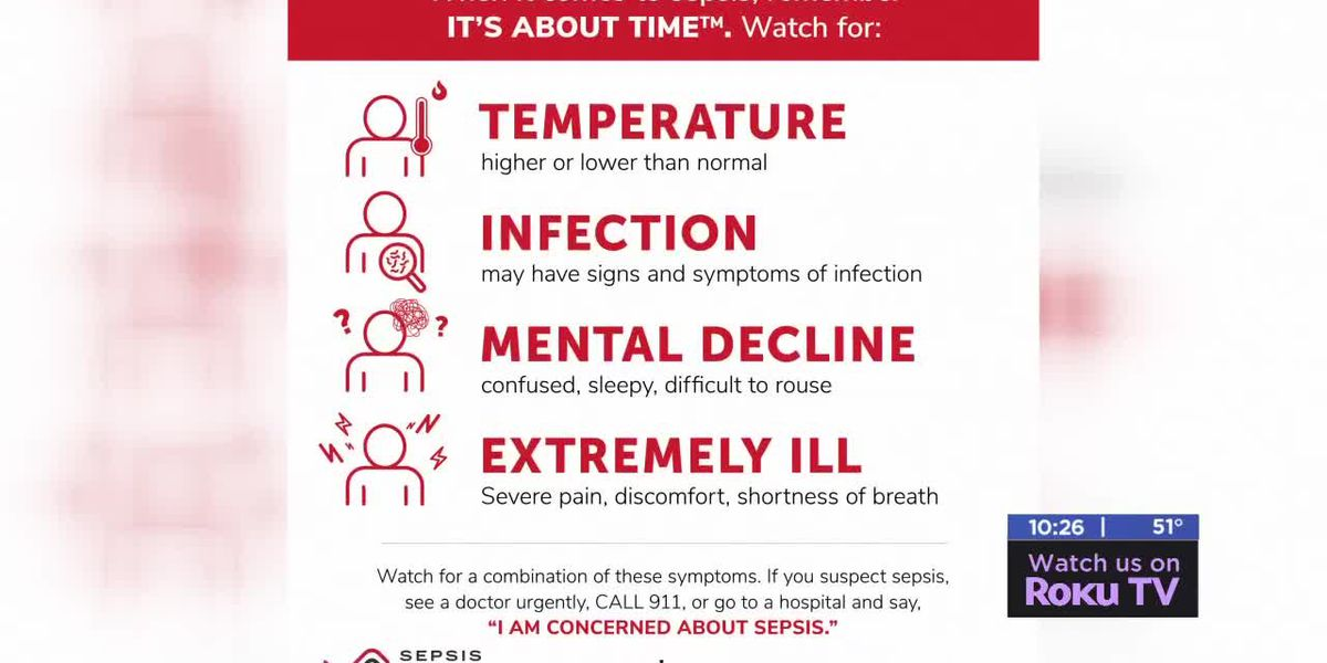 Medwatch: September is Sepsis Awareness Month