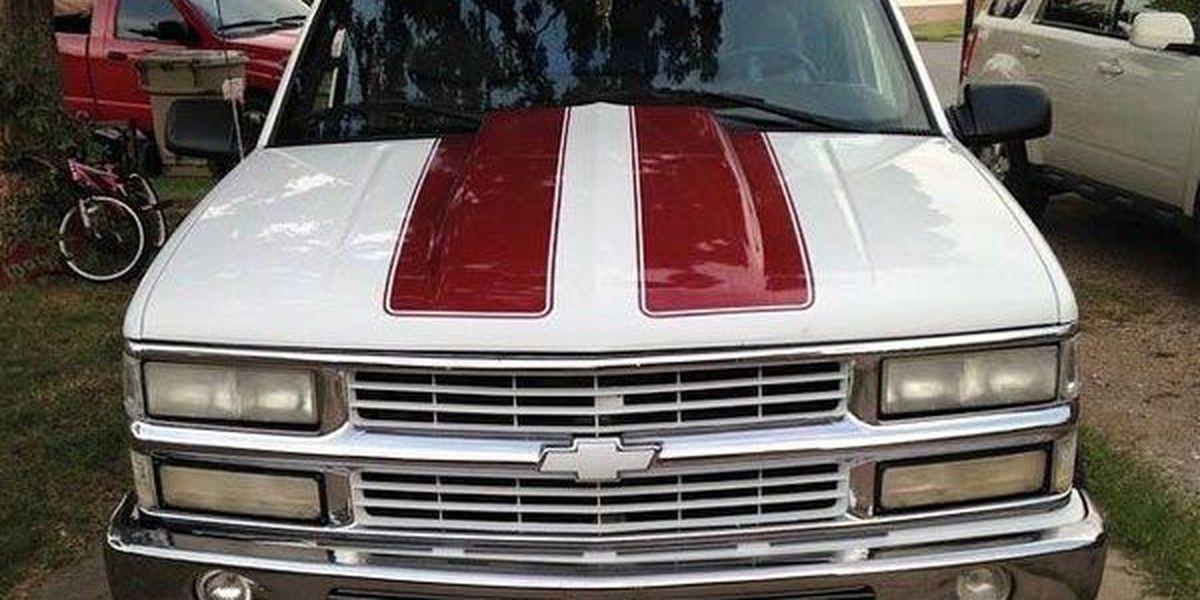 Stolen truck involved in wreck
