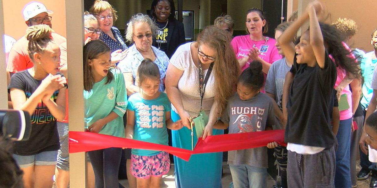 LPS holds ribbon cutting ceremonies for new safe rooms