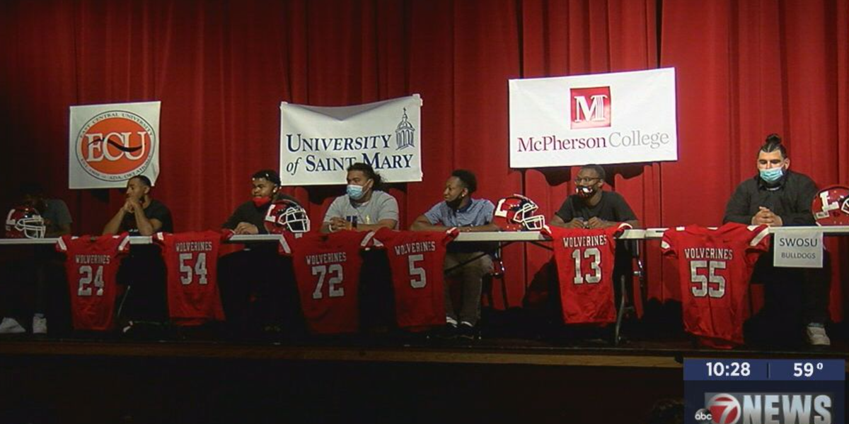 Seven Wolverines sign with college programs