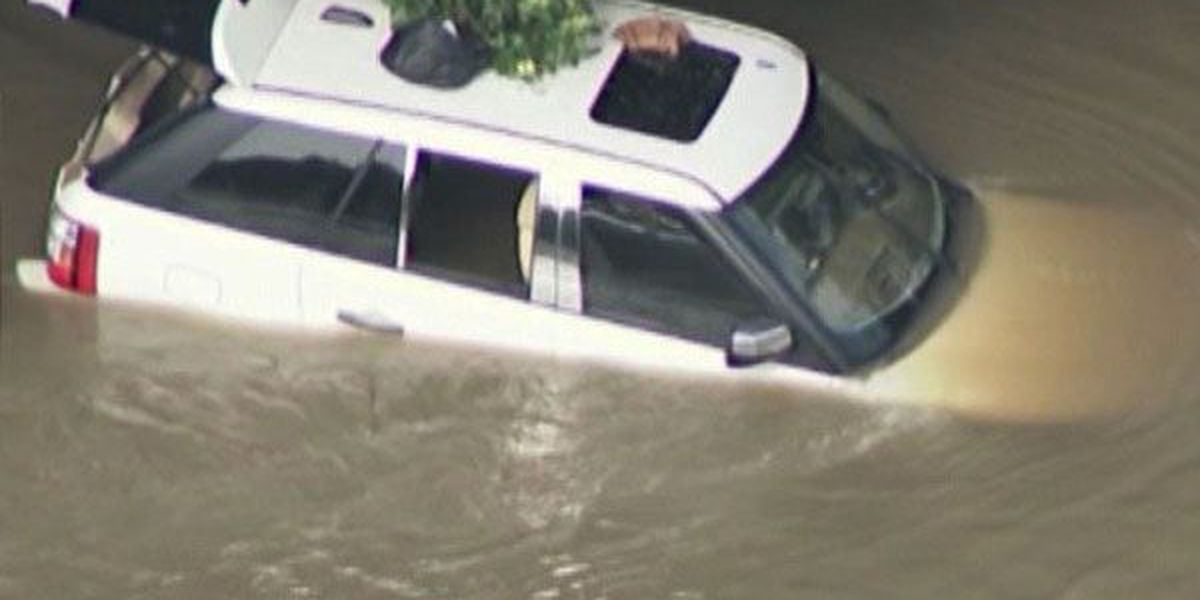 Be on the lookout for flood-damaged vehicles