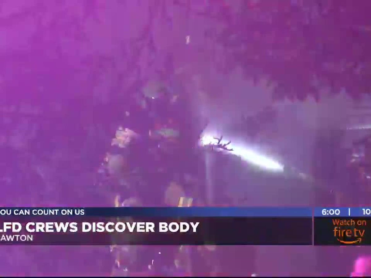 LFD crews discover body while responding to structure fire