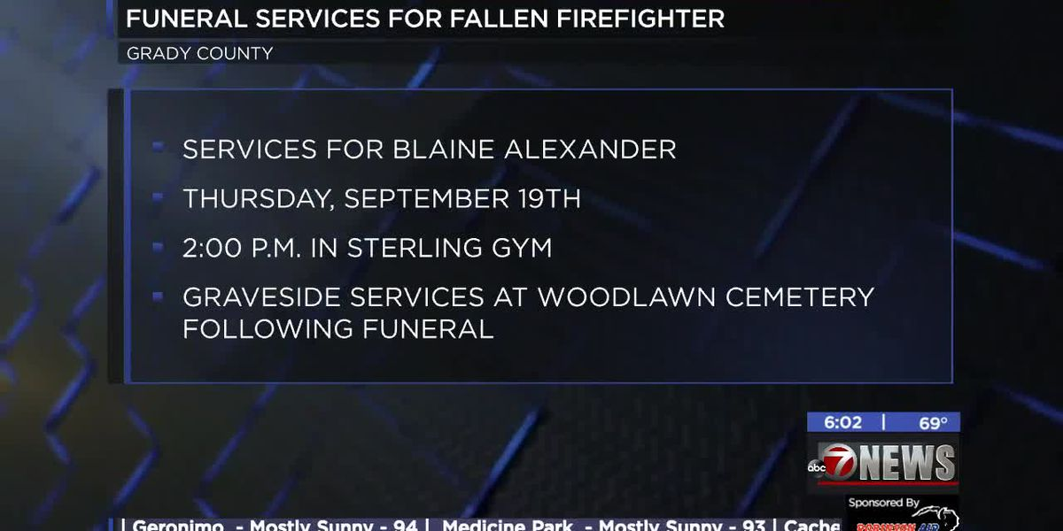 Funeral services set for fallen Acme Firefighter