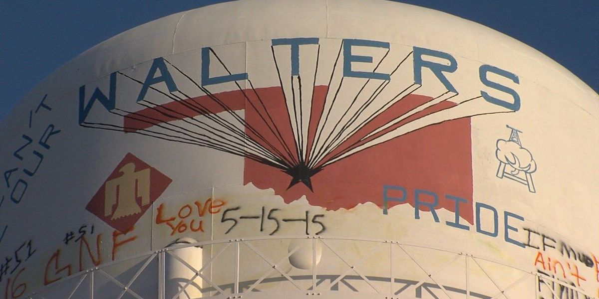 City working to prevent water tower climbing, vandalism