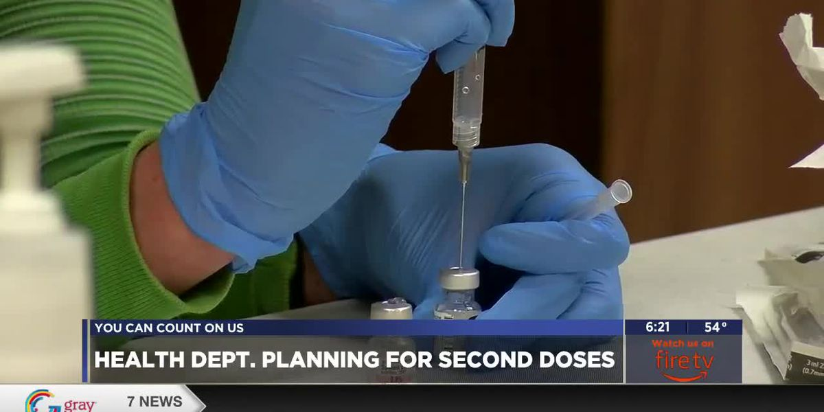 Health Dept. answers questions about second COVID-19 vaccine doses
