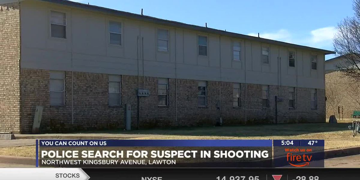 Police searching for suspect in Lawton shooting