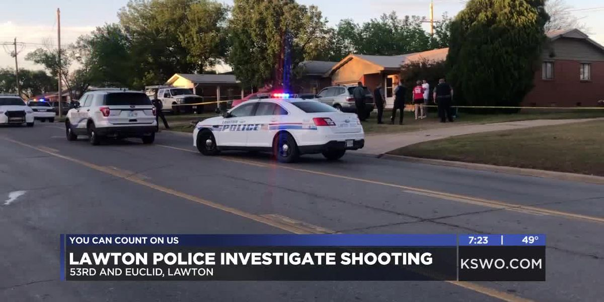 Lawton Police investigating shooting on city's west side