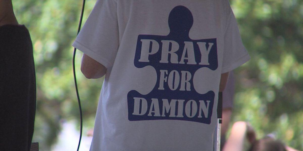 Public memorial held for Damion Davidson