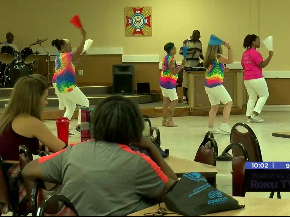 Community participates in zumba fundraiser for Alzheimer's