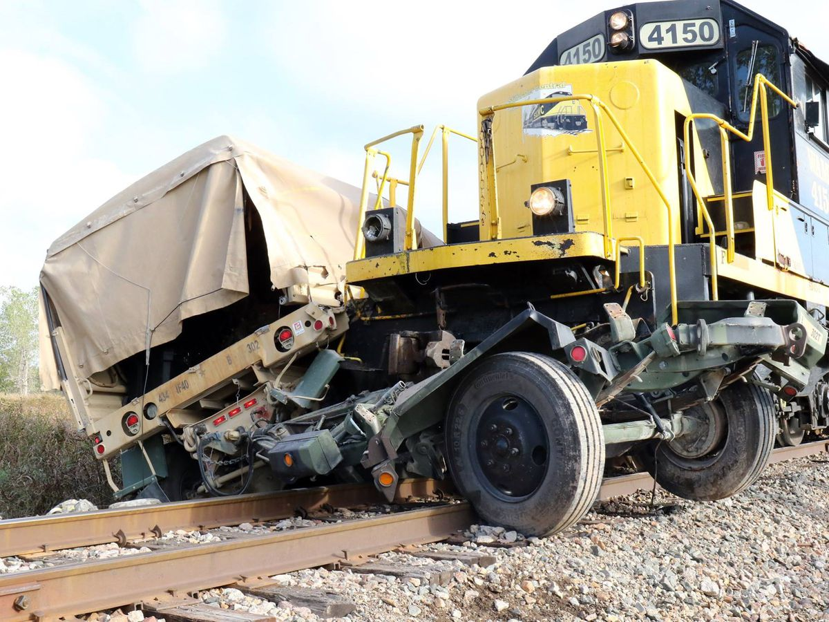 Two soldiers injured from accident involving train on Fort Sill