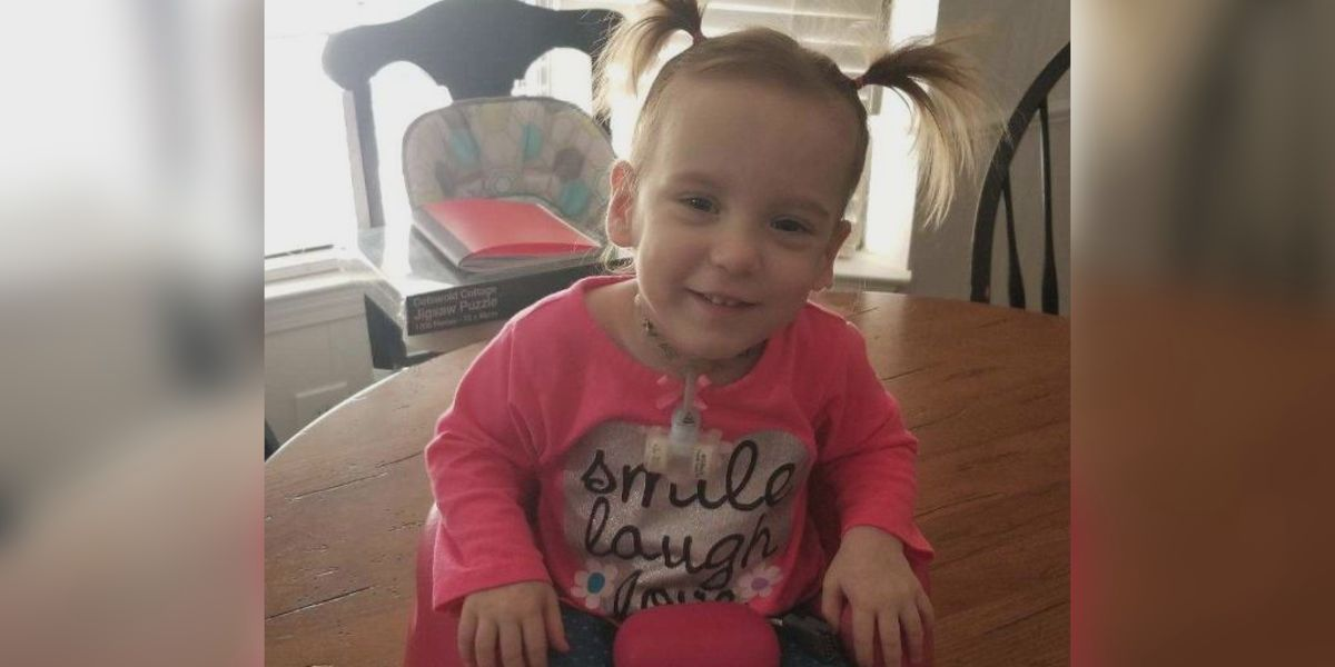 Local family launches fundraiser for two-year-old's surgery