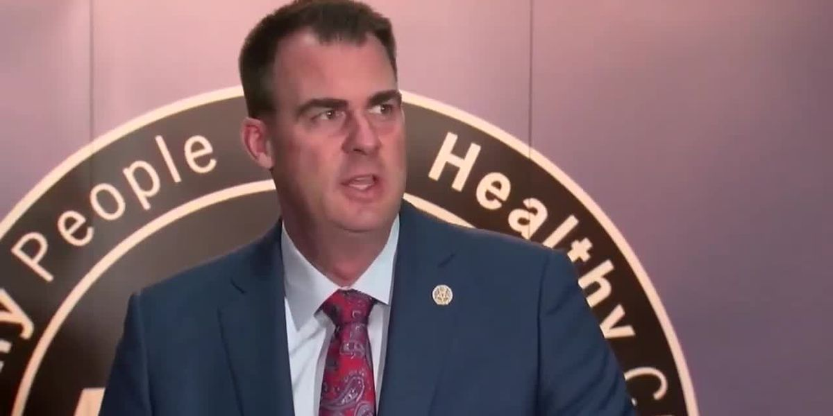 Gov. Stitt Announces He Tested Positive For COVID-19