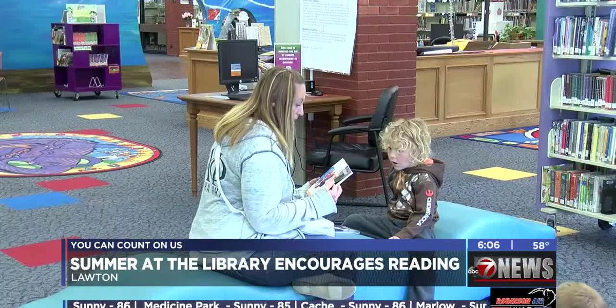 The Lawton Public Library offers summer reading program for all ages
