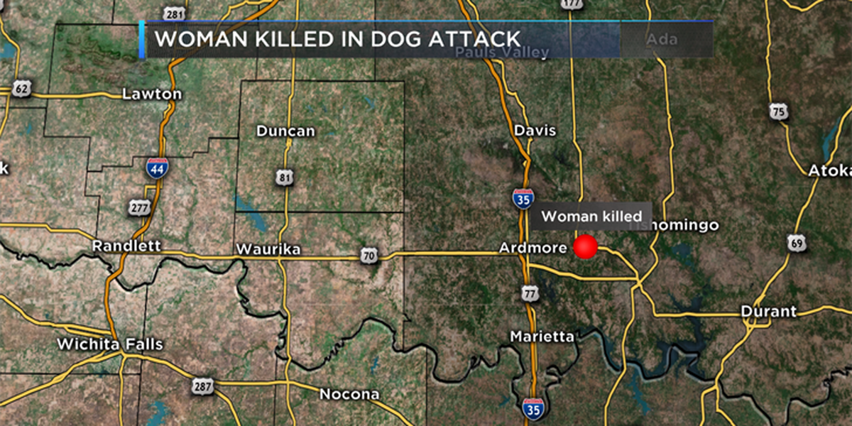 Carter County Sheriff says Oklahoma woman dead after dog attack