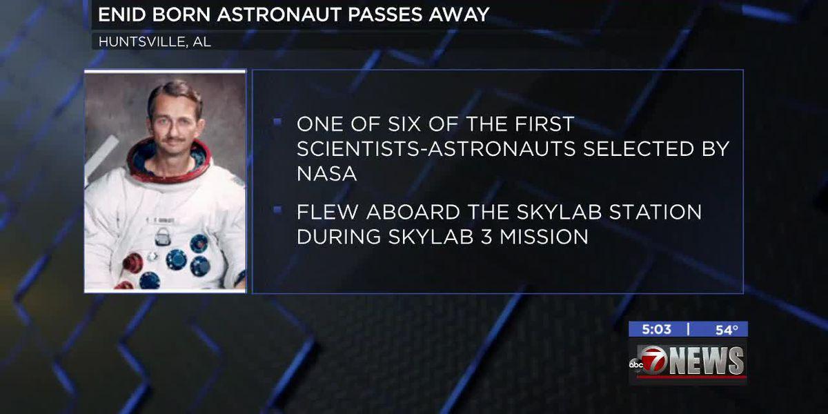 Astronaut born in Enid passes away