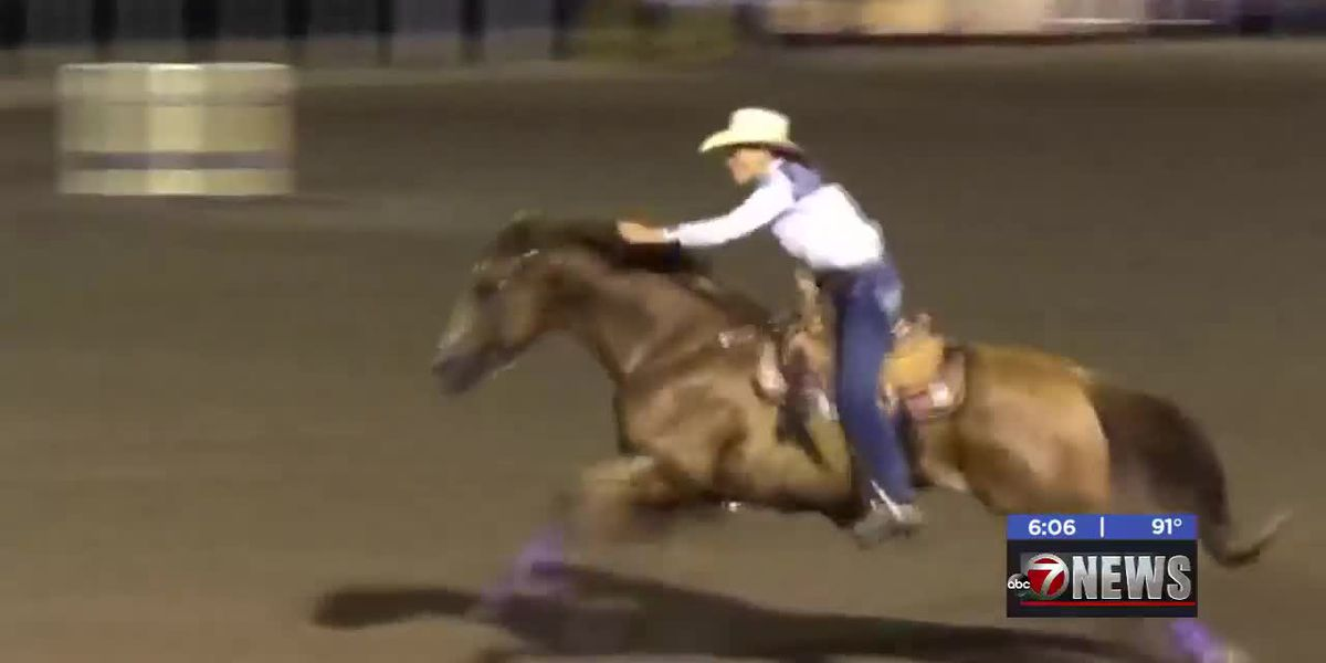 Minco, OK barrel racer proves age is just a number