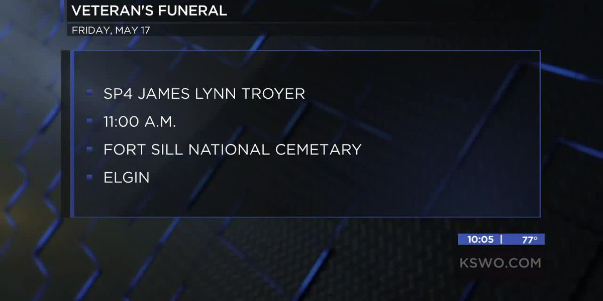 Oklahoma veteran with no identified family being laid to rest in Elgin