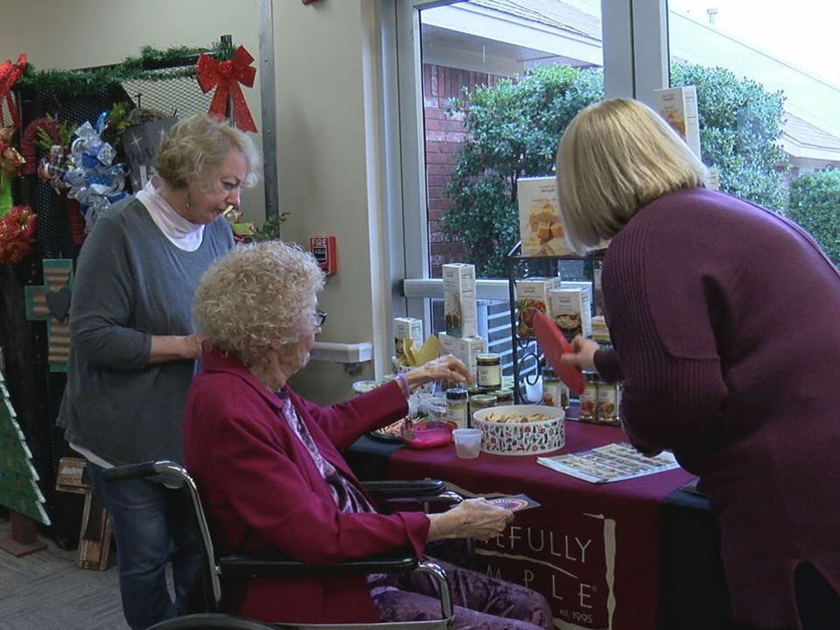 BrookRidge Retirement Community held their Holiday Happening event