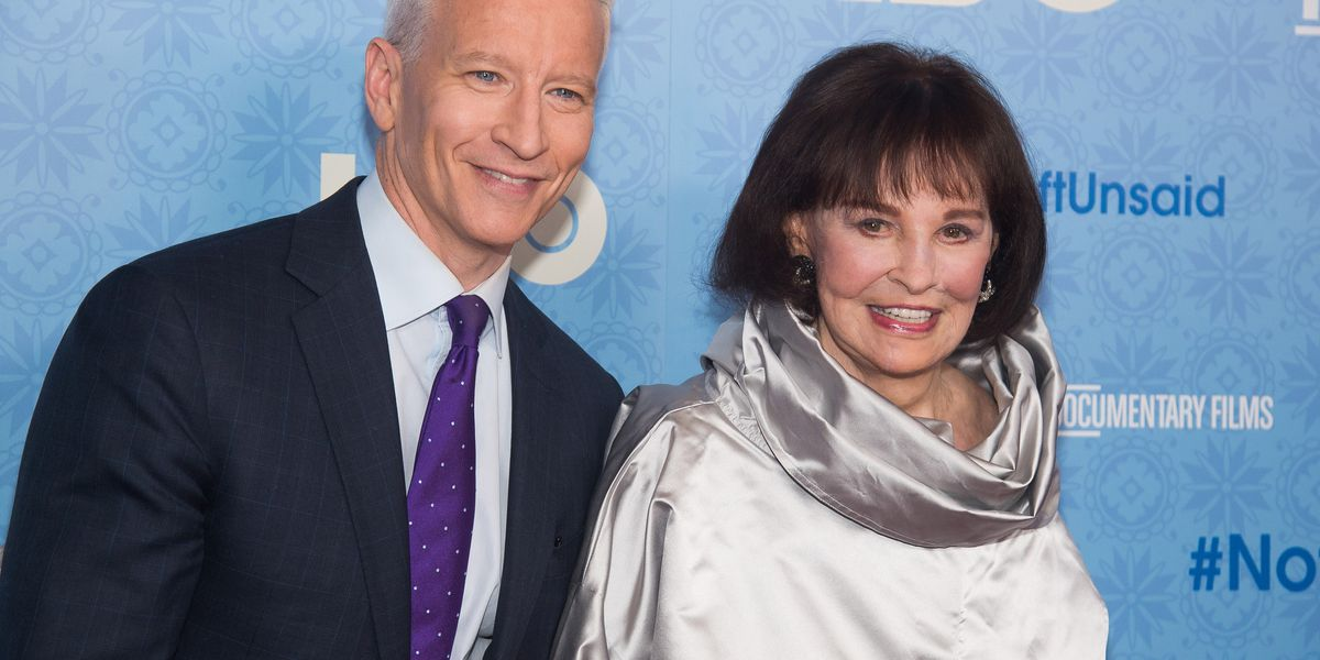 Gloria Vanderbilt, jeans queen, heiress, dies at age 95