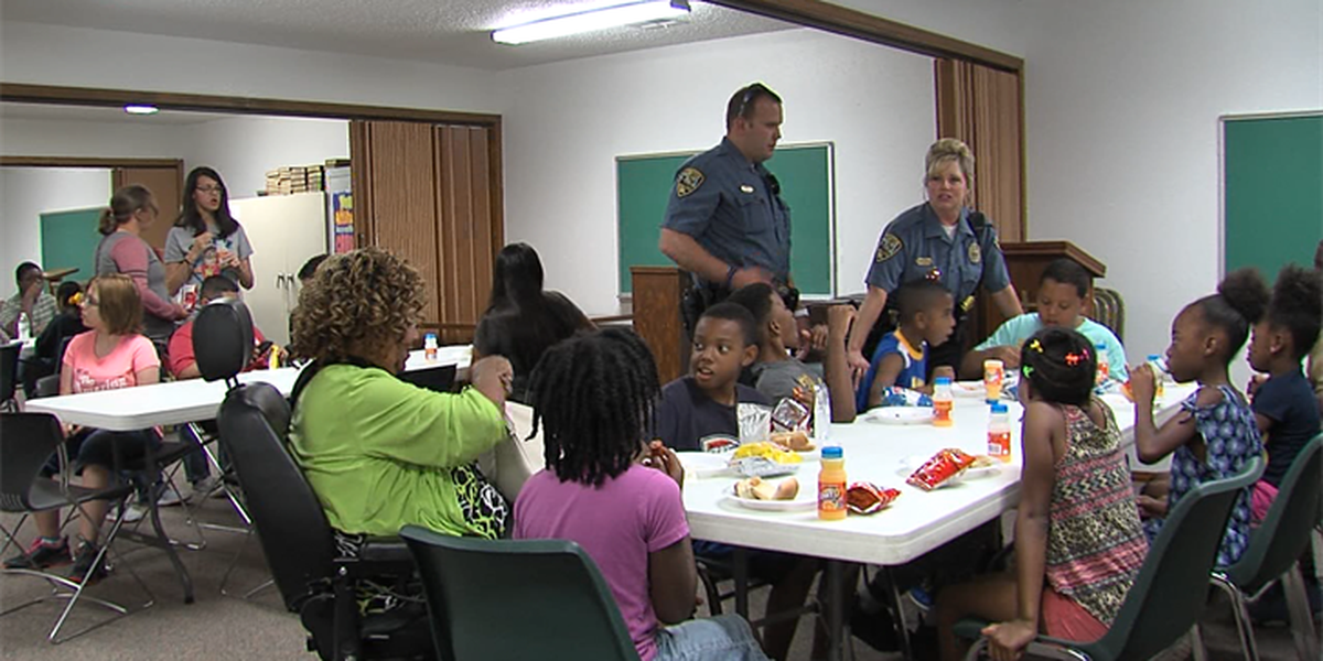 Lawton teens take part in Junior Citizens' Police Academy