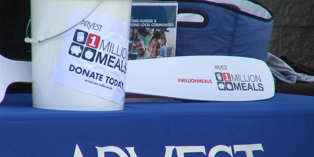 Arvest One Million Meals Campaign Reaches Halfway Point
