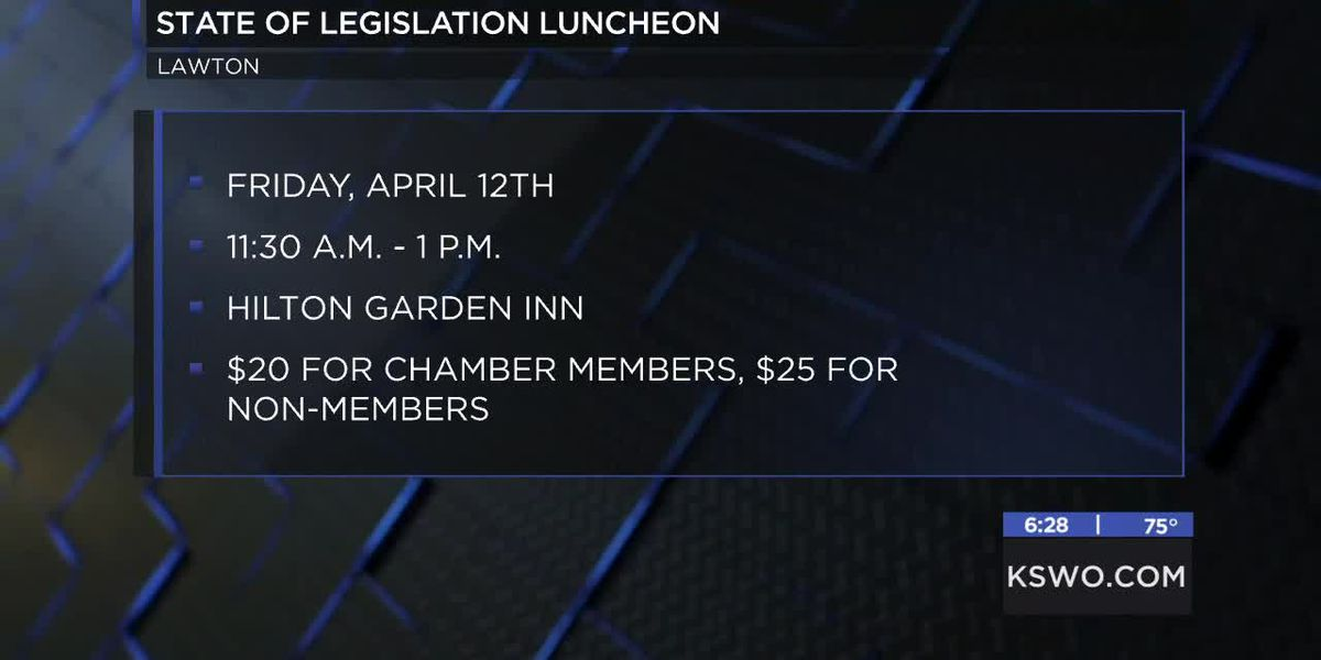 Lawton-Fort Sill Chamber of Commerce hosting legislative luncheon