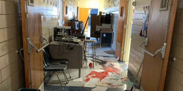 Three kids aged 12 and under accused of causing $50K in damage at Altus school