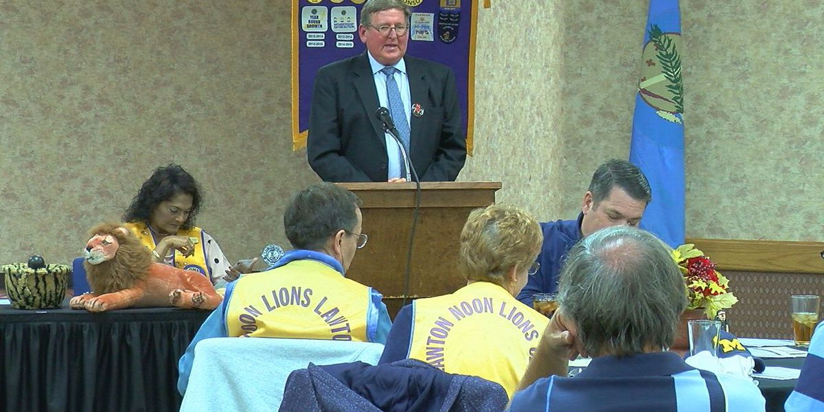 Association opposing SQ 793 talks to Noon Lions Club