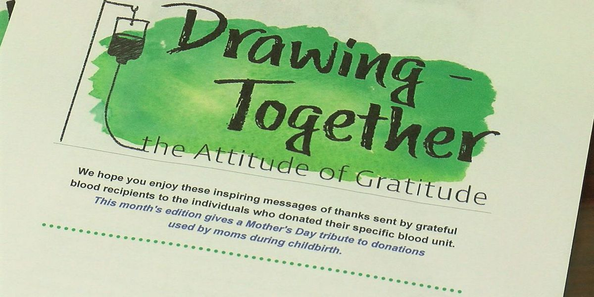 "Oklahoma Blood Institute introduces monthly news letter ""Drawing Together"""