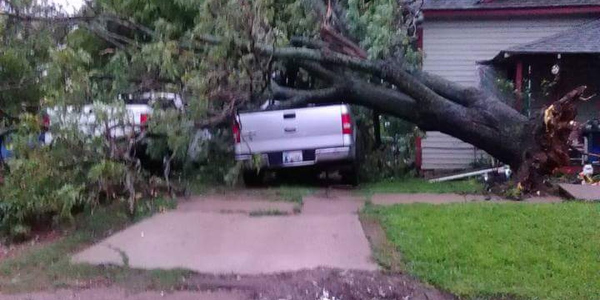 Damage reported after severe weather early Monday