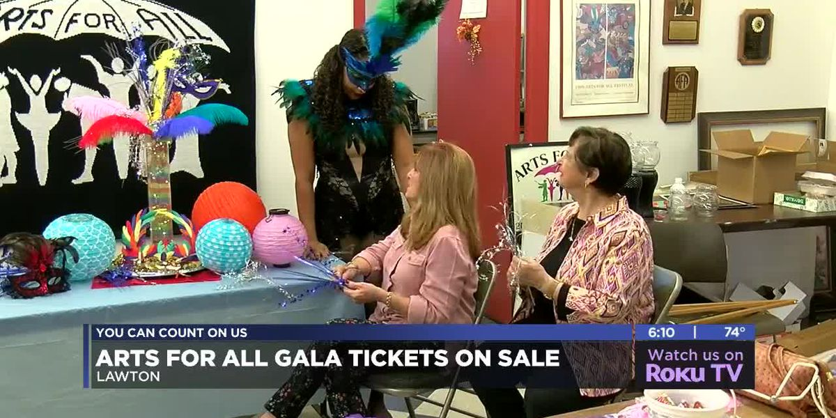Tickets on sale for annual Arts for All Gala