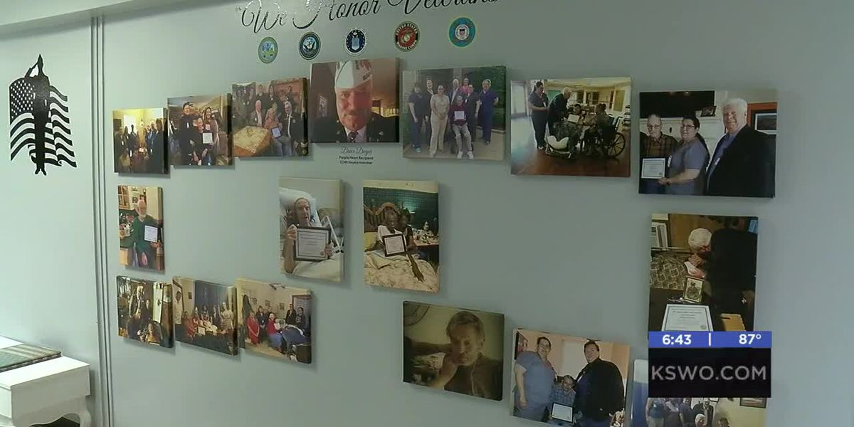 Medwatch: Memorial wall for hospice veteran patients created at CCMH