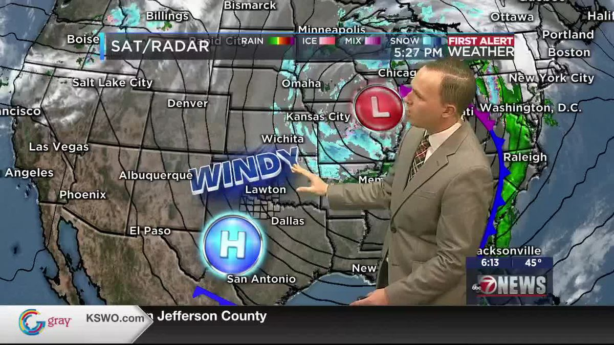 7News First Alert Weather: Friday, January 15, 2021 - A pleasant weekend in store for Texoma