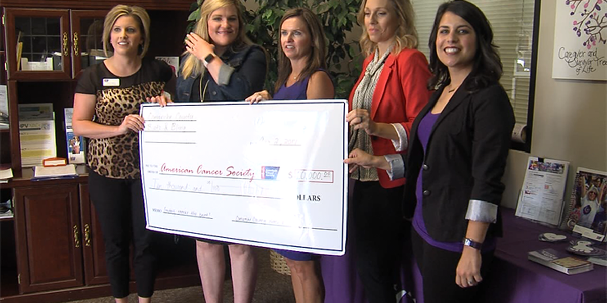 Boots and Bling donates $10K raised during color run to the American Cancer Society