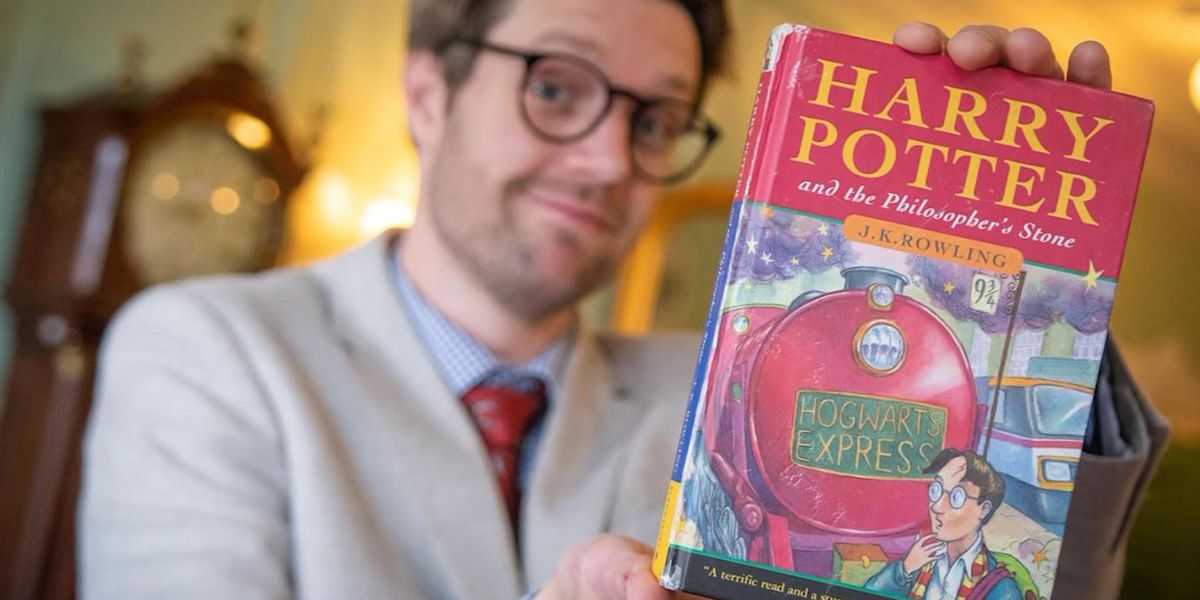 Rare, 1st edition Harry Potter book sells for $34,000