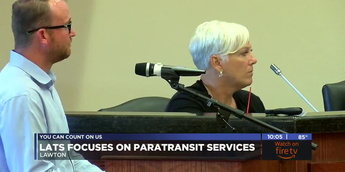 Lawton Area Transit System works to develop paratransit system