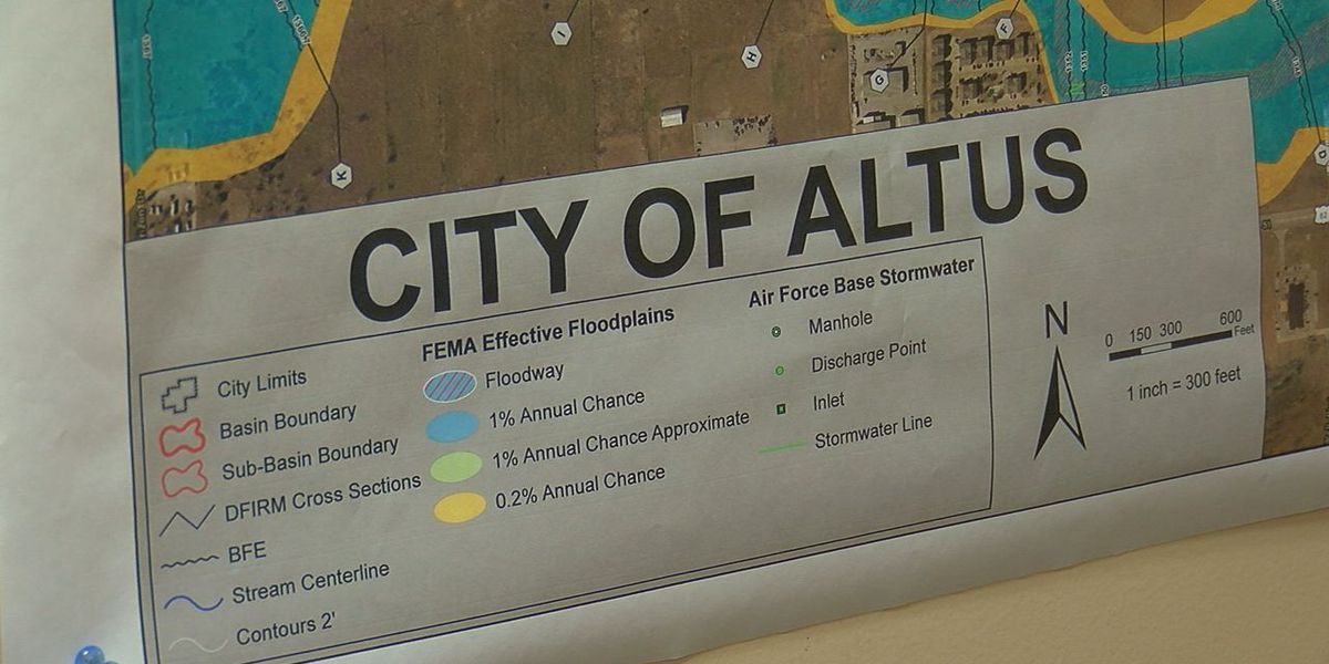 City of Altus seeking public input on common flooding areas