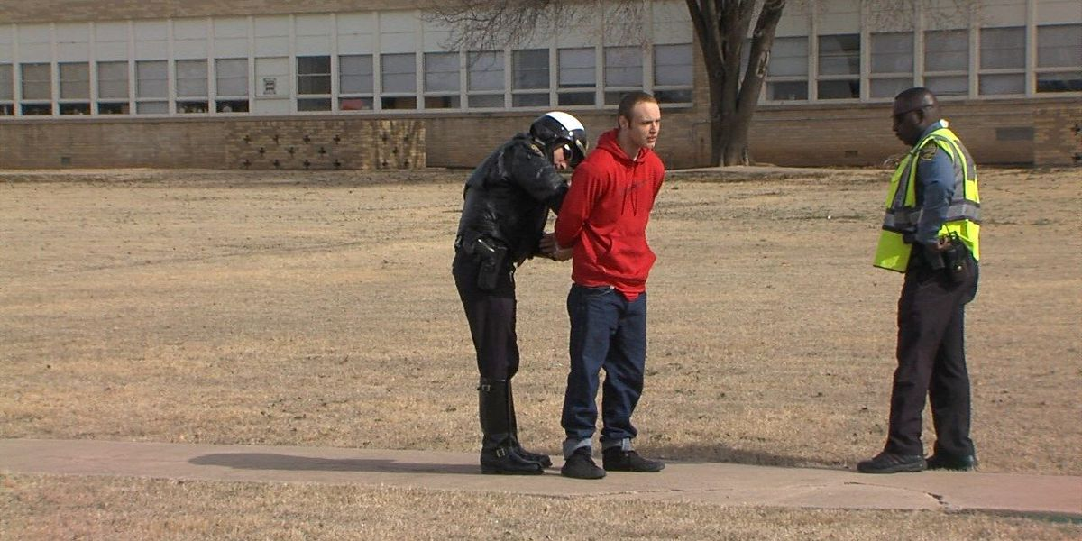 School zone collision leads to drug confession