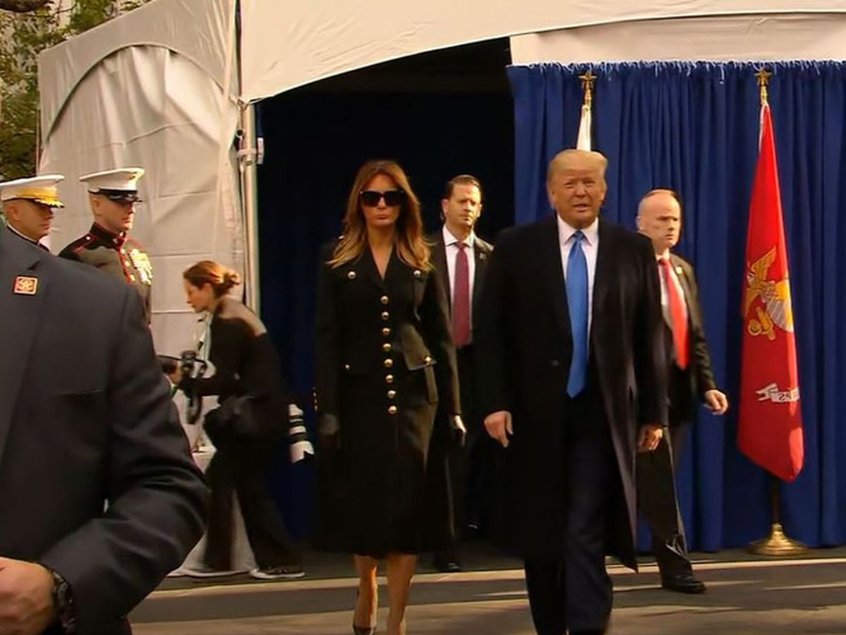 Trump kicks off Veterans Day tribute in NYC