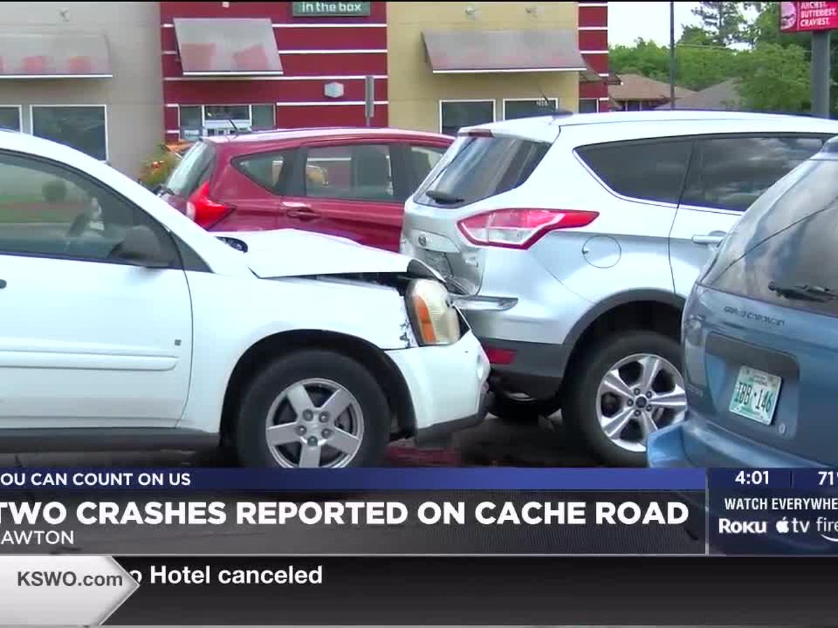 Two crashes reported on Cache Road