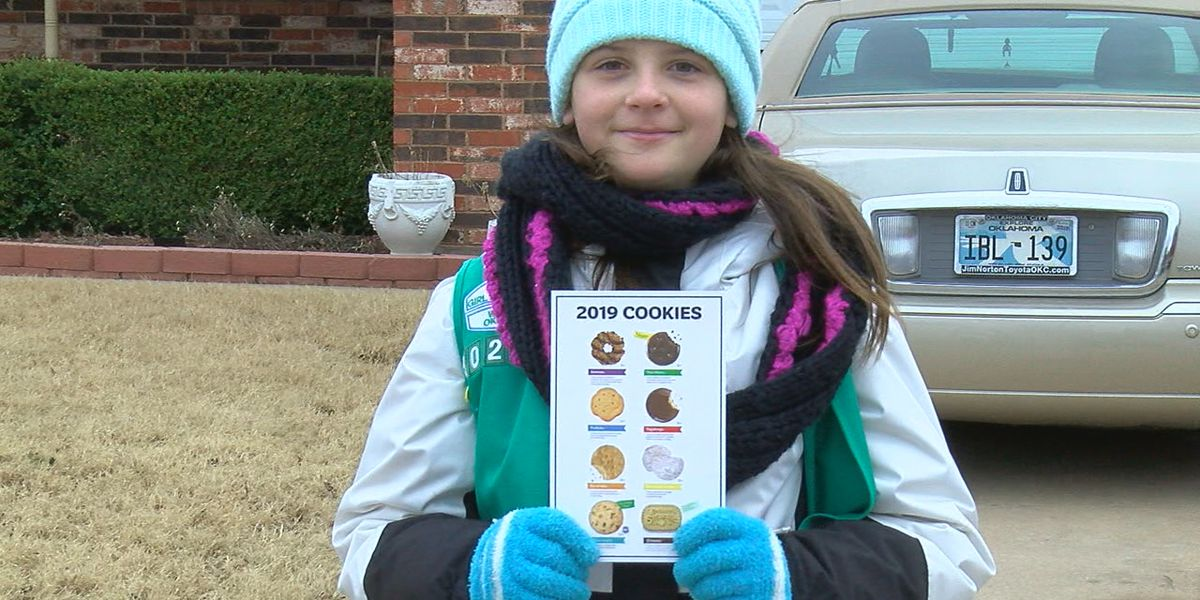 Lawton Girl Scout is determined to reach her goal