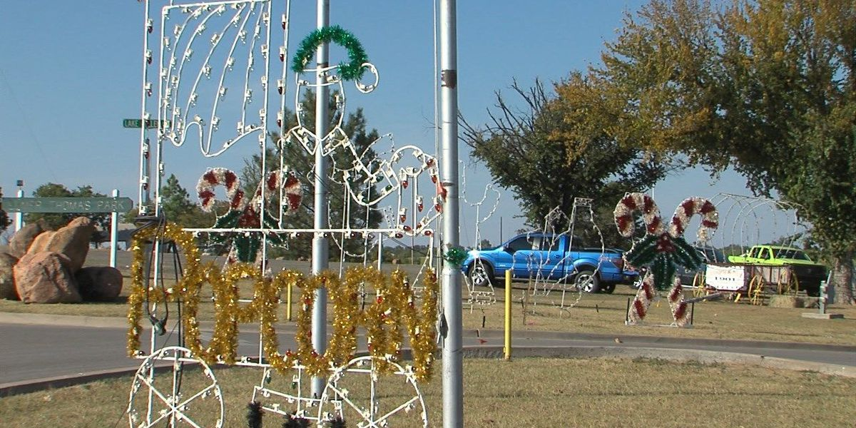 Holiday in the Park raising funds, collecting decorations