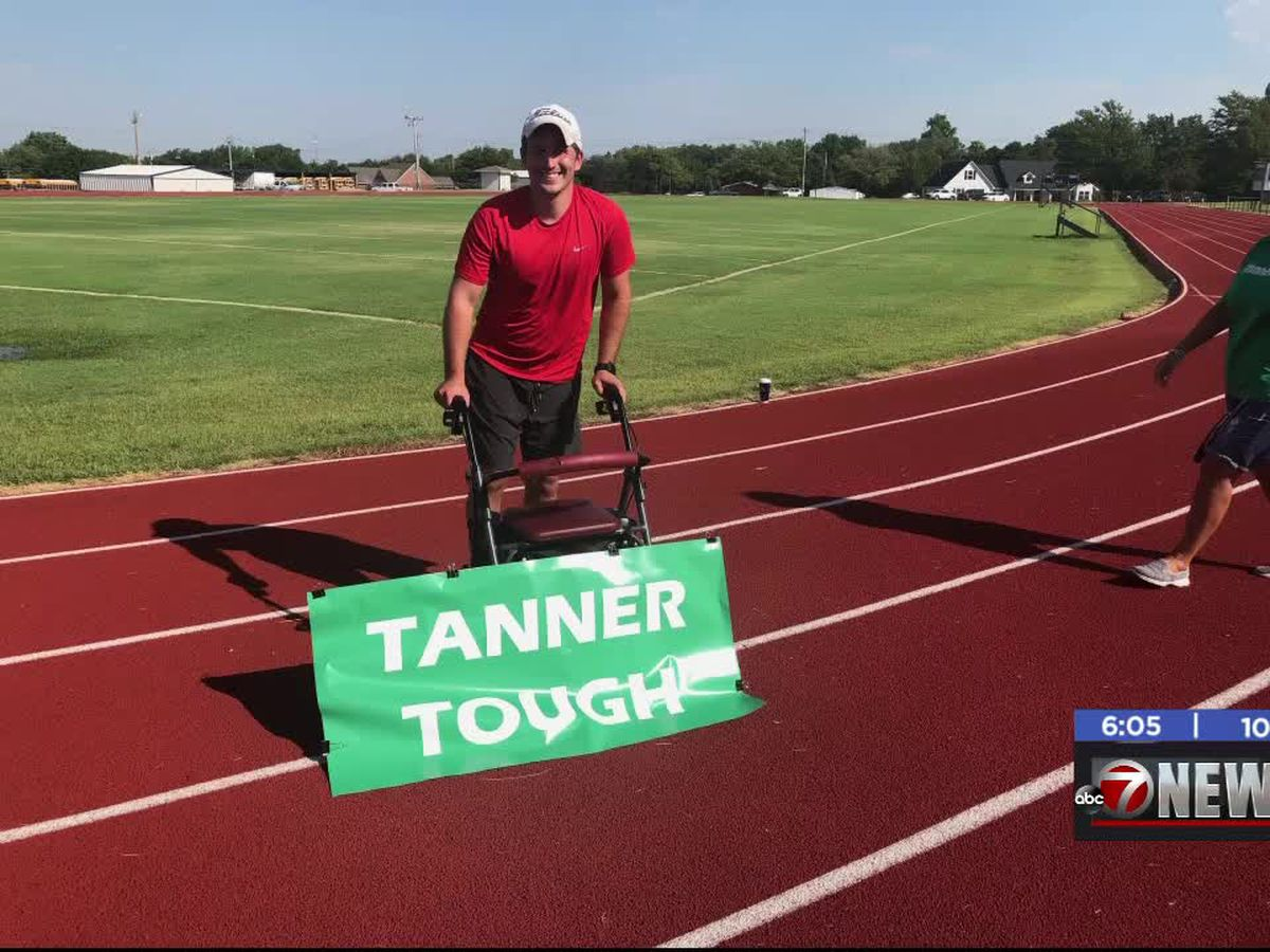 Marlow man walks first quarter mile after accident