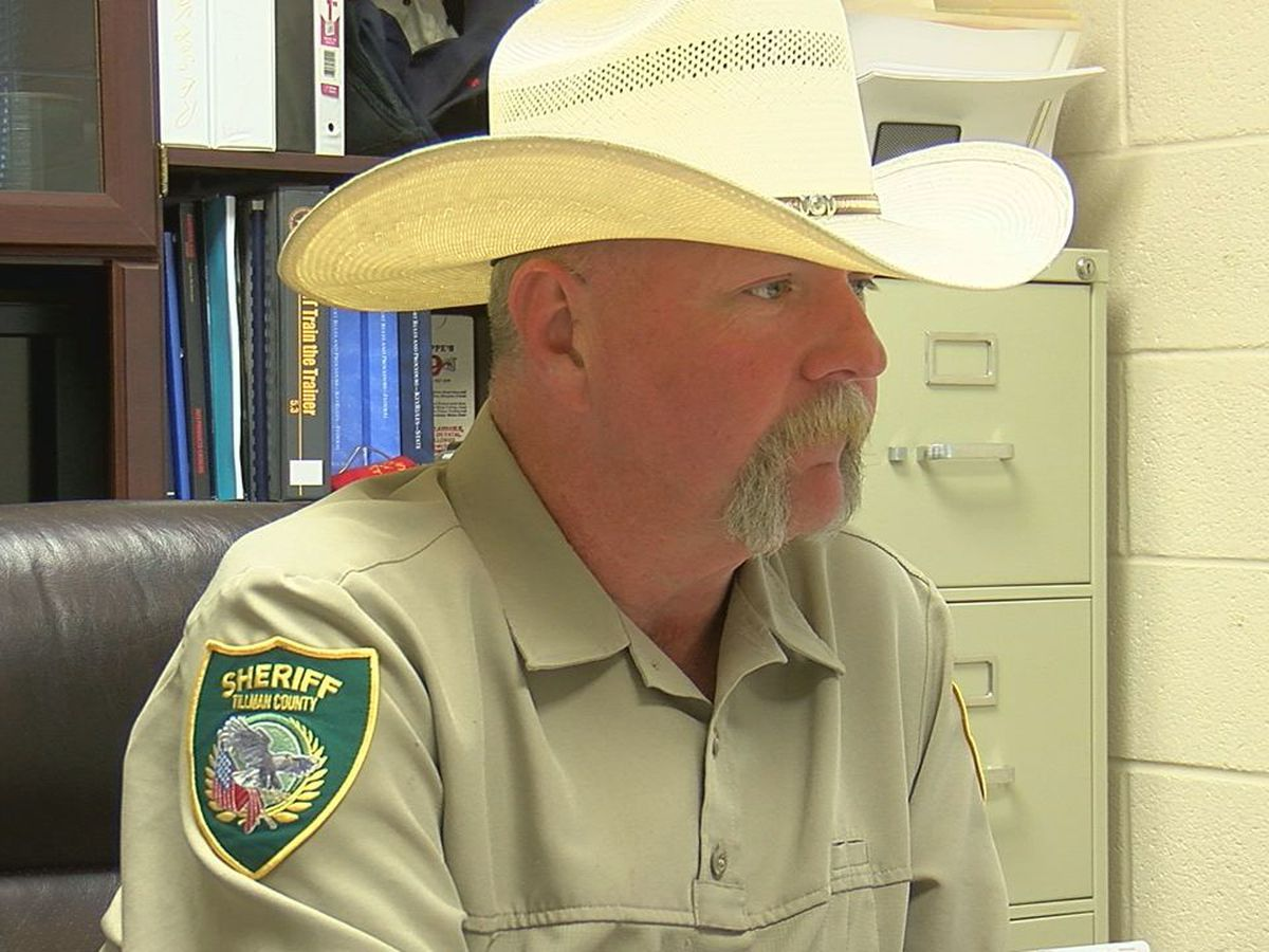 New Tillman County Sheriff adjusting to new role