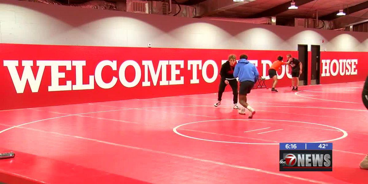 Cache wrestling team gets new practice gym