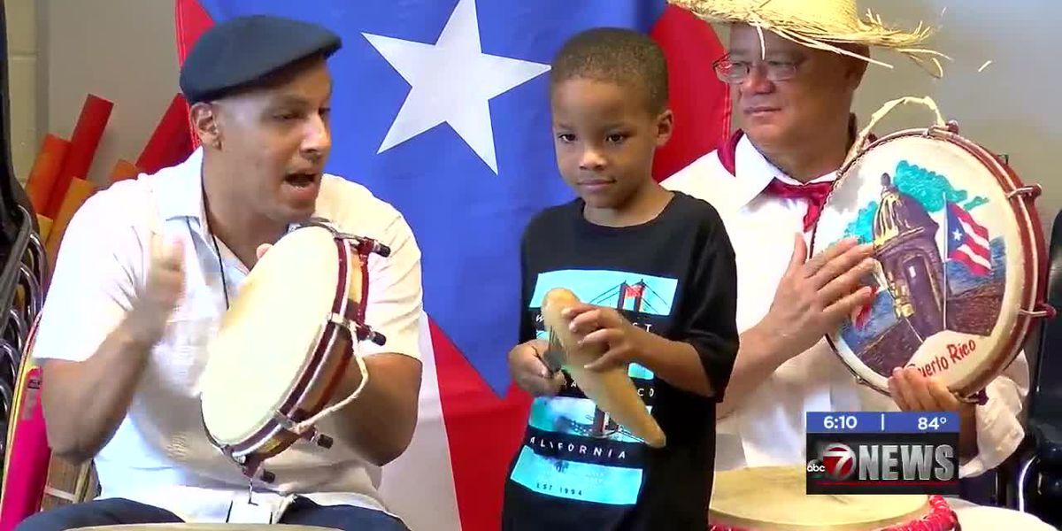 Cleveland Elementary students celebrate National Hispanic Month