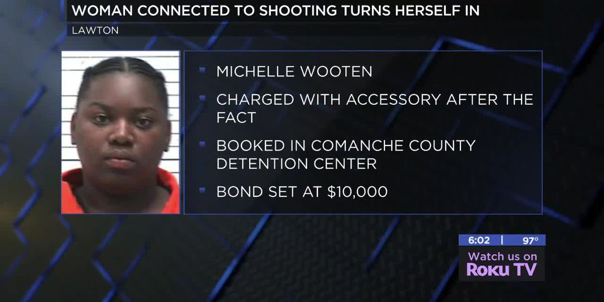 Woman connected to Lawton shooting turns self in